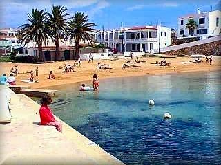 La pequeña cala de Na Macaret, es un rincon muy especial en el area del Puerto de Adaya