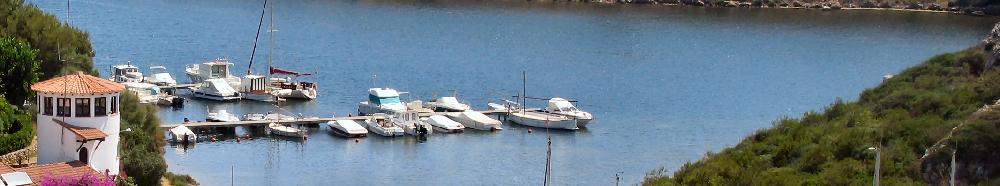 Puertos de Menorca, Es Mercadal, Puerto de Addaya, costa norte de la Isla
