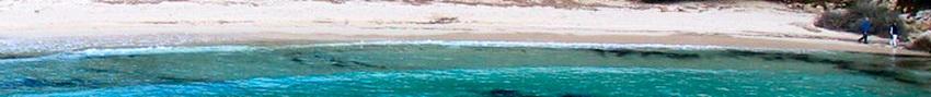 Playas de Menorca, cala Macarella, costa norte de la Isla de Menorca, proximo a cala Galdana